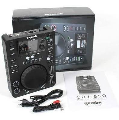 Kit Par De Cdj Gemini 650 + Mixermixer Gemini Itrax + Case