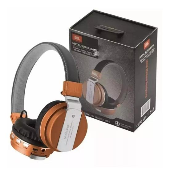 Fone Ouvido Headphone Jbl - Jb-55 Bluetooth Sem Fio Mp3