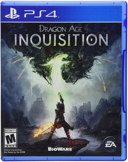 Dragon Age Inquisition Ps4 Mídia Física Novo Original