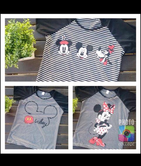 Camisetas Baby Look Disney