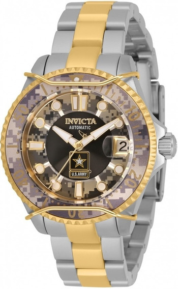 Relogio Invicta Feminino Us Army Ed Limitada Model 31856