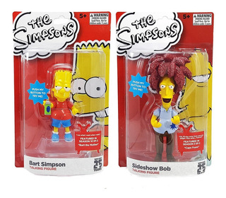 Bob Patiño Y Bart Simpson Parlantes ( Pila Baja)
