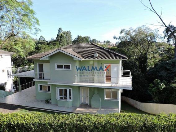 Casa Com 4 Dormitórios À Venda, 380 M² Por R$ 1.490.000 - Granja Viana - Carapicuíba/sp - Ca0296