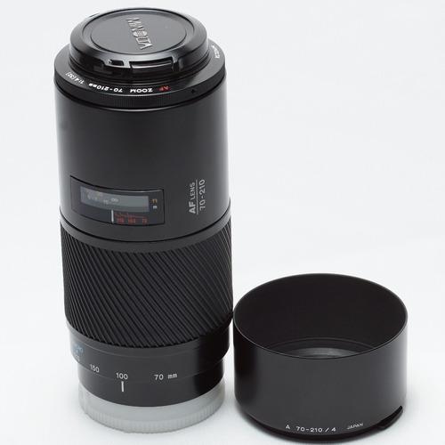 Lente Sony Minolta 70-210mm F4 Beercan