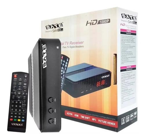 Conversor Sintonizador Tda Isdb-t 1080p Hdmi A/v