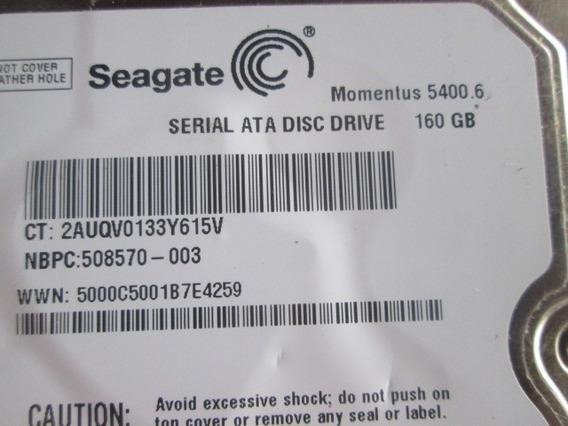 Disco Duro 160gb Sata Seagate *como Nuevo*
