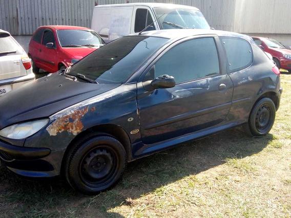 Peugeot Soleil 206 Azul 2 Portas