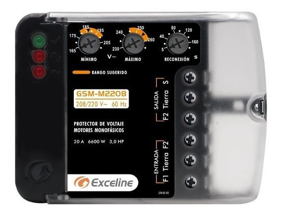 Protector De Voltaje Exceline Motores Monofasicos 220v