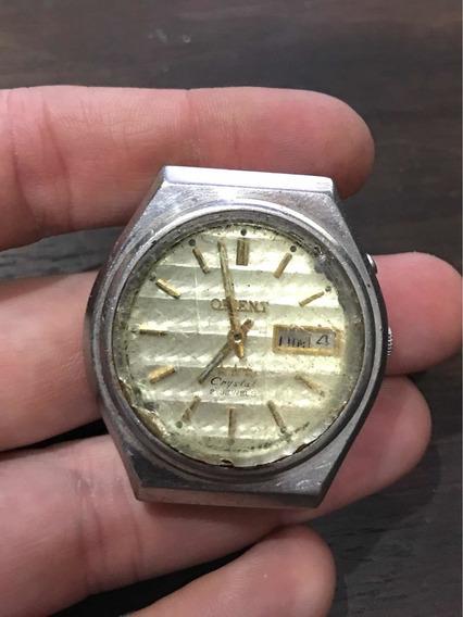 Relógio De Pulso Orient A Corda Antigo Frete Grátis 648
