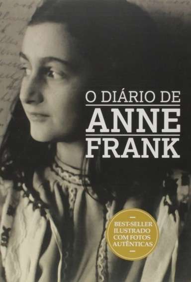 Diário De Anne Frank Livro Novo Lacrado Com Fotos Autenticas