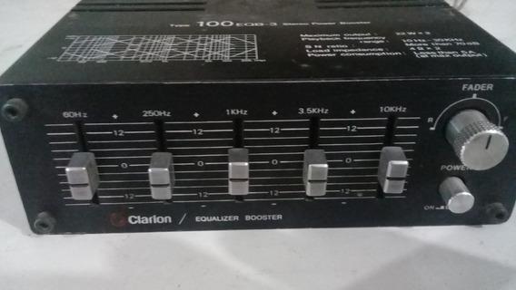 Ecualizador Amplificador Clarion Vitage Old School´s