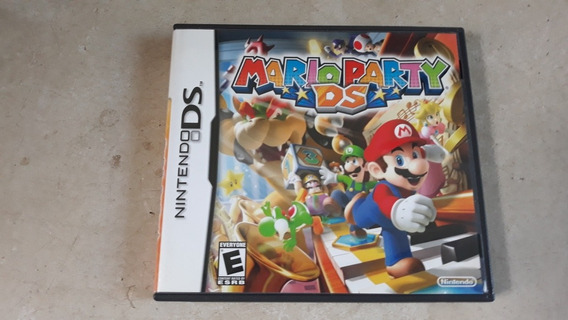 Jogo Mario Party Ds Nintendo Ds Original