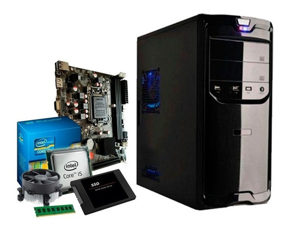 Pc Intel Core I5 3.3 Ghz, 8gb Ddr3, Ssd 120gb, Hd 500gb + Nf