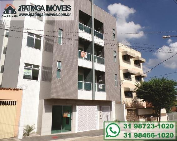 Apartamento Para Venda, 3 Dormitórios, Iguaçu - Ipatinga - 125