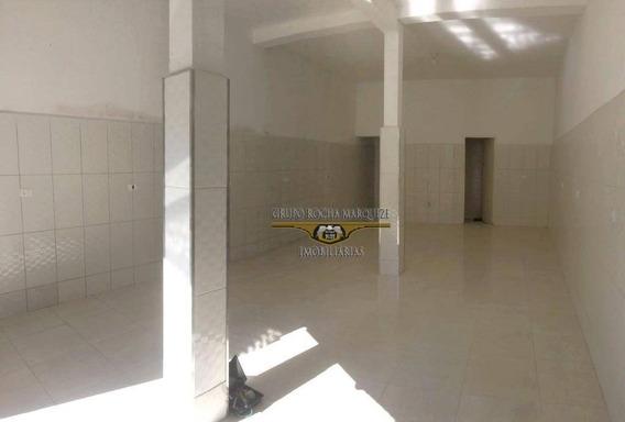 Salão Para Alugar, 48 M² Por R$ 1.100,00/mês - Vila Carrão - São Paulo/sp - Sl0099