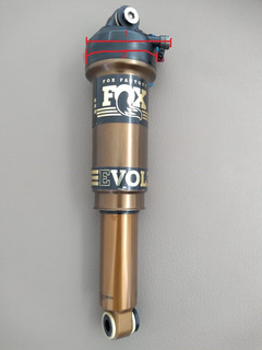 Shock Amortiguador Fox Float Ctd 155mm Kashima Mtb 8.5 X 2.5