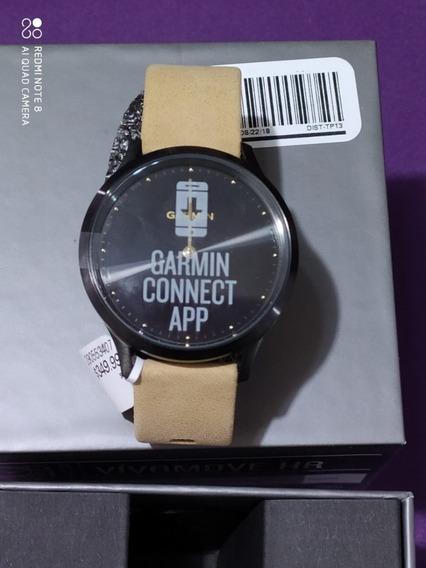 Garmin Vívomove Hr Premium Hybrid Smartwatch Mod010-01850-10