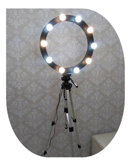 6 Lâmpada Led Bulbo Para Camarim Ring Light Penteadeira