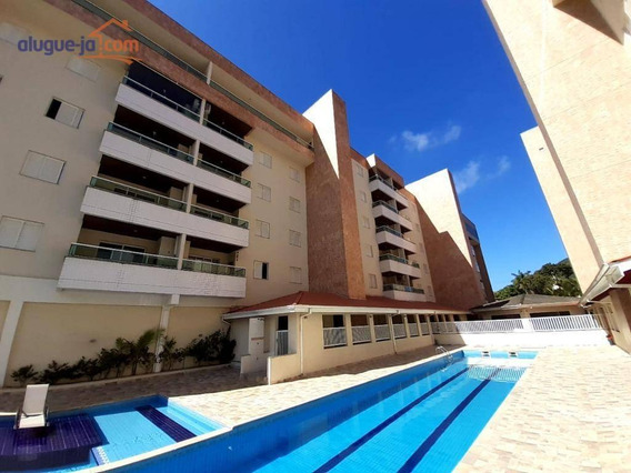 Apartamento Com 2 Dormitórios Para Alugar, 80 M² Por R$ 2.200/mês - Toninhas - Ubatuba/sp - Ap9963