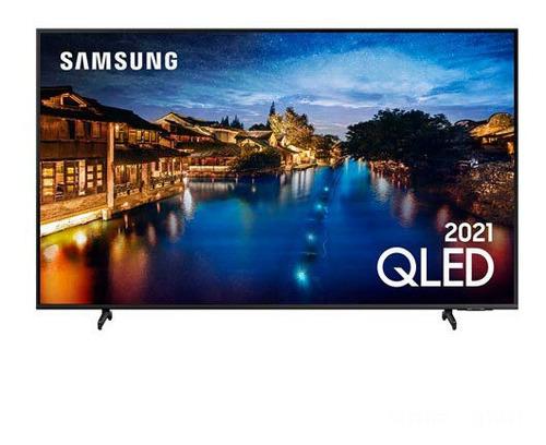 Imagem 1 de 9 de Smart Tv Samsung Qled 4k 65 , Alexa Built In - Qn65q60aagxzd
