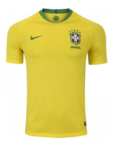Camisa Da Seleção Brasileira I 2018