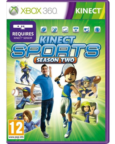 Kinect Sports 2 Segunda Temporada Xbox 360 Midia Física