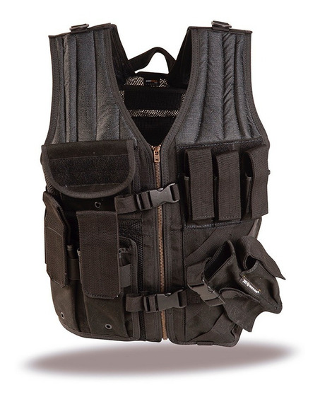 Chaleco Tactico Centurio Cross Draw Vest Original Sk7 By 707