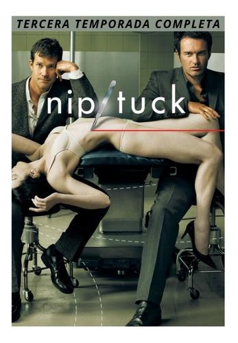 Imagen 1 de 4 de Nip Tuck Tercera Temporada Completa 6 Dvd's