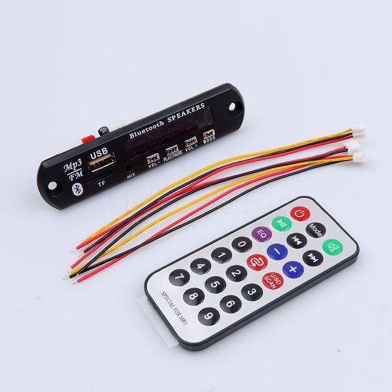 Placa P/ Amplificador Muda A Pasta-modulo Usb Mp3 Bluetooth