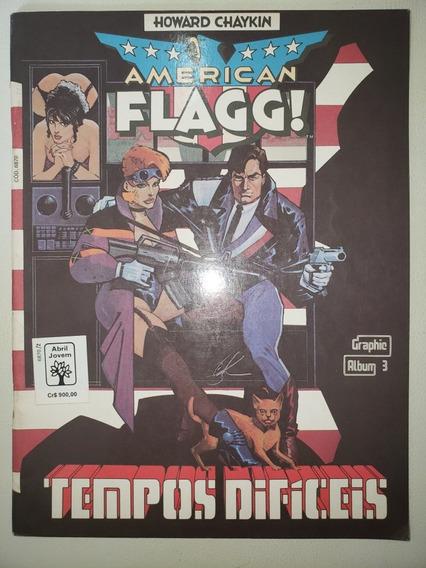 Graphic Album 3 American Flagg Editora Abril Excelente