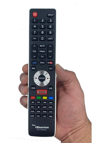 Control Remoto Hisense En-33925a +4 Pilas+envio