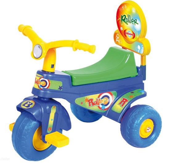 Triciclo Plastico Roller Biemme 1 A 3 Años