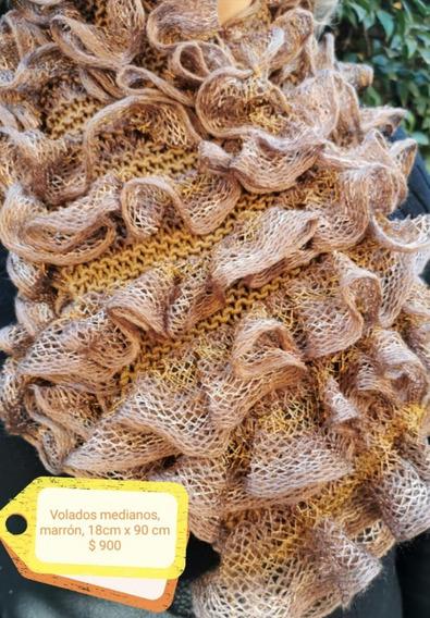 Bufandas Lana Importada Varios Colores