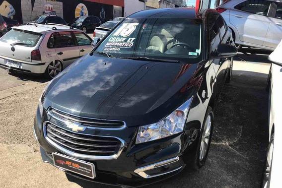 Chevrolet Cruze Lt 1.8 2015 (aut) (preto) (ecotec)