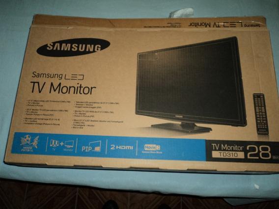 Televisor+monitor Led Samsung 28 Pulgadas