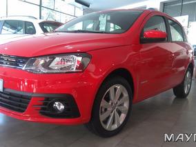 Volkswagen Vw Nuevo Gol 1.6 2017 Financiado -na