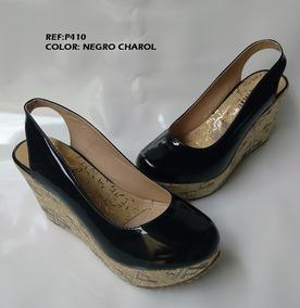 731e1826f0c Zapato Para Dama Ultima Moda Plataforma Y Charol - Baletas para ...