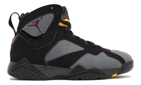 Zapatillas Nike Air Jordan 7 Retro Bordeaux Gris Negr Hombre