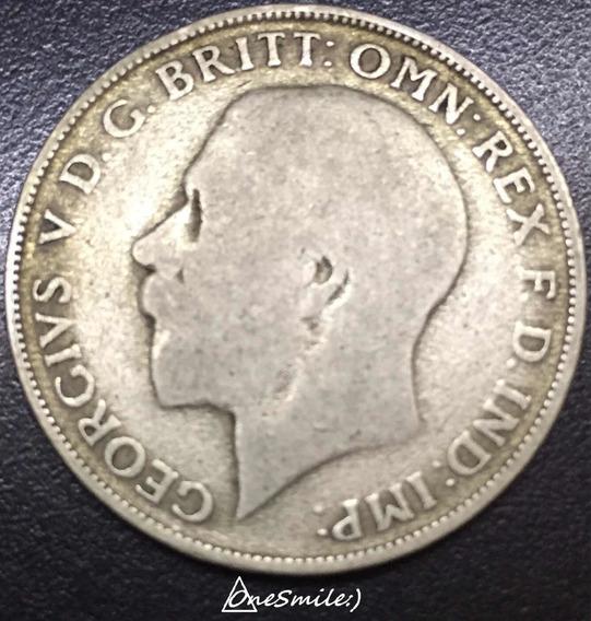 Onesmile:) Moneda De Gran Bretaña One Florín 1922 De Plata