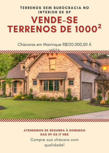 Casa Em Mairinque Com Area De 1000² Por 120 Mil