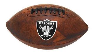 Balon Futbol Americano Wilson Nfl Jr Team Raiders // Bamo