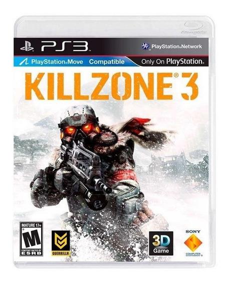 Jogo Ps3 Killzone 3 Midia Fisica Semi-novo