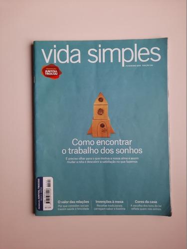 Revista Vida Simples - Nº 192 - O Trabalho Dos Sonhos
