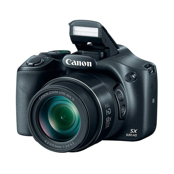 Cámara Canon Powershot Sx530 Hs 50x Zoom 16mp Wifi Nfc