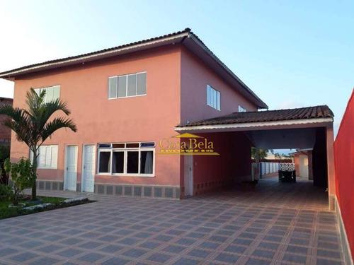 Chácara Com 7 Dormitórios À Venda, 1020 M² Por R$ 541.000 - Cibratel - Chácaras - Itanhaém/sp - Ch0043