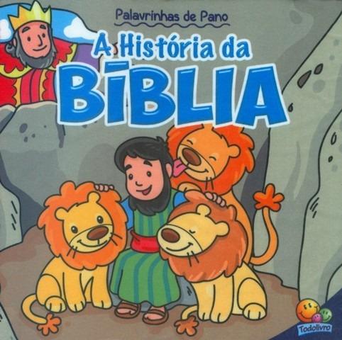 Livro Infantil - Palavrinhas De Pano - A História Da Bíblia
