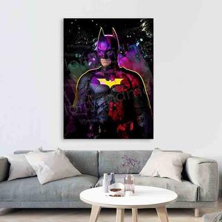 Cuadro Batman Decorativo Abstracto 50x70cm, Moderno Canvas