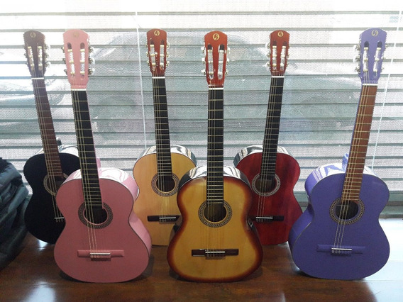 Guitarra Criolla Clasica Y Mediana De Estudio Orellano +funda