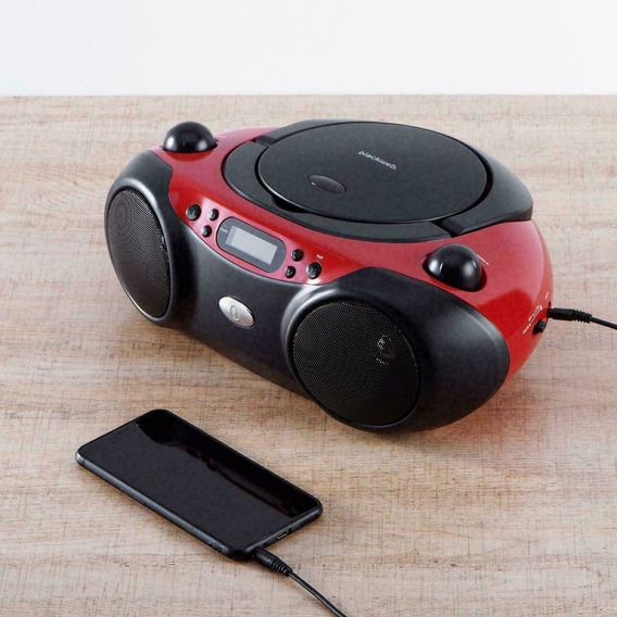 Rádio Bluetooth Cd Player Fm 127v