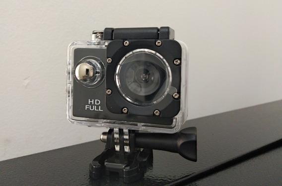 Câmera Esportiva Hd 720p 12mp Acessorios - Mt1081 Tomate